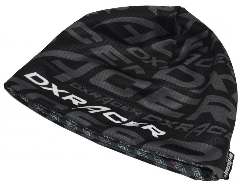Funkcjonalna czapka DXRACER rozmiar XL, czarno-szara
