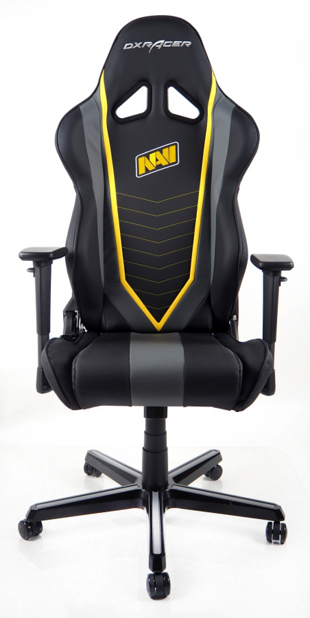 fotel gamingowy DXRACER OH/RZ60/NGY/NAVI
